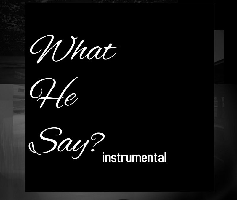 Diff'rence Aka Darrin Cox – What He Say?(instrumental)