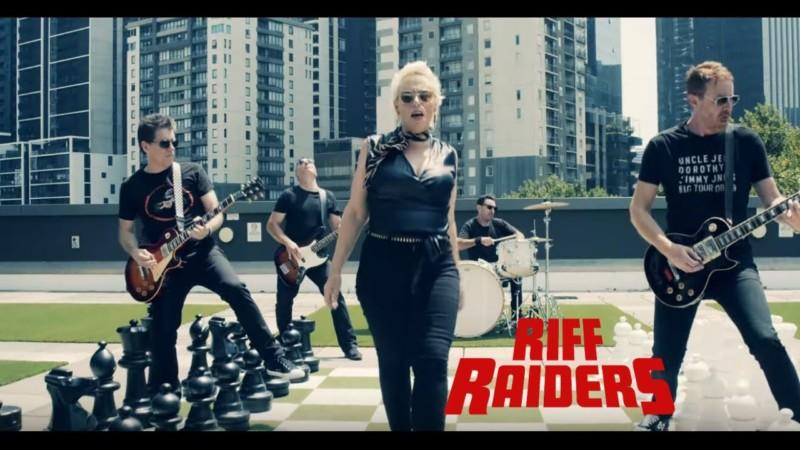 Riff Raiders – Samantha Jones